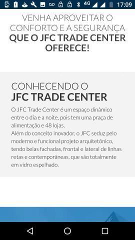 Vendo Sala JFC TRADE CENTER aparti de R$330.00 - Foto 3