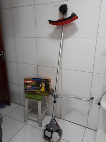 Roçadeira á gasolina + kit Operador de Roçadeira
