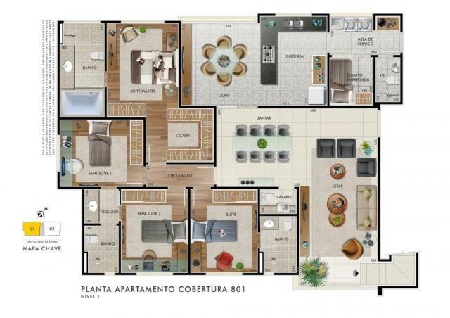 Apartamento com 4 dormitórios à venda, 153 m² por R$ 1.240.000,00 - Castelo - Belo Horizon - Foto 10