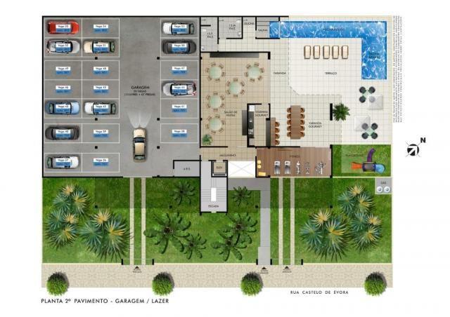 Apartamento com 4 dormitórios à venda, 153 m² por R$ 1.240.000,00 - Castelo - Belo Horizon - Foto 7