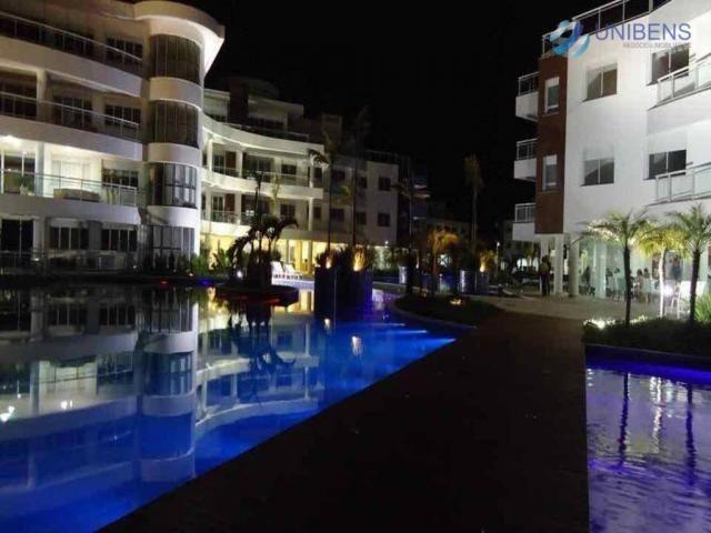 Apartamento à venda na praia da cachoeira do bom jesus, florianópolis, marine home resort