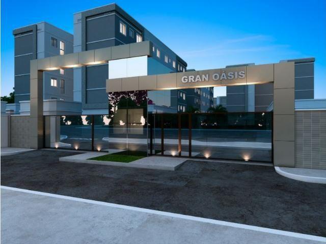 Gran Oásis - Apartamentos 2Q na região do Santa Rita, atrás do Res. Eldorado Parque