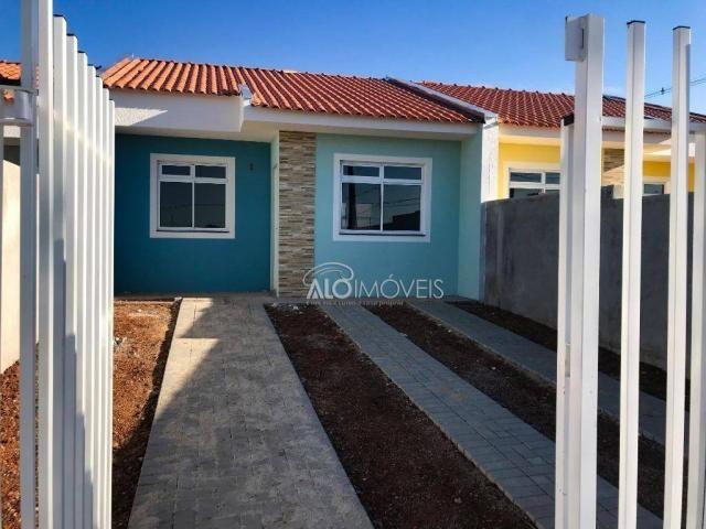 Casa com 2 dormitórios à venda, 42 m² por r$ 130.000 - estados - fazenda rio grande/pr - Foto 13