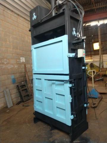 Prensas vertical para reciclagem prensa nova - Foto 4