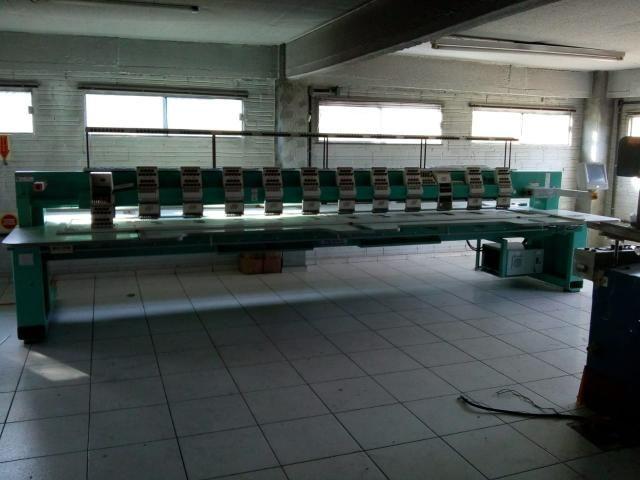 Máquina de bordar Tagima 12 cabeças - Foto 3