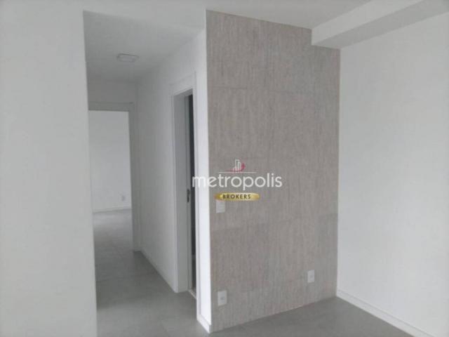 Apartamento com 2 dormitórios para alugar, 69 m² por r$ 2.500/mês - cerâmica - são caetano - Foto 7