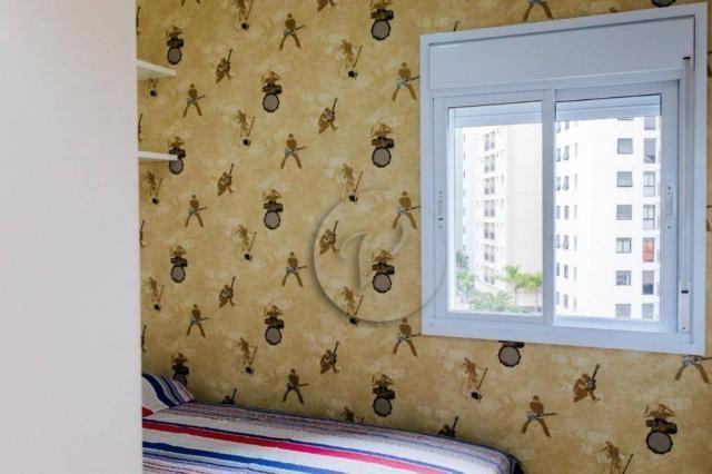 Apartamento com 3 dormitórios para alugar, 90 m² por r$ 2.800/mês - jardim bela vista - sa - Foto 14