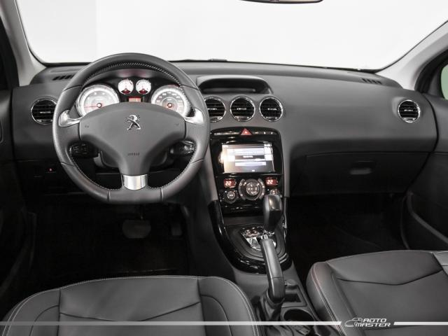 Peugeot 408 Sedan Griffe 1.6 TB Flex 16V 4p Aut. - Preto - 2019 - Foto 6