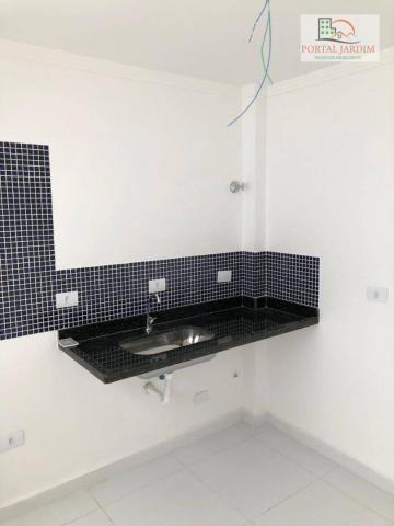 Apartamento com 2 dormitórios à venda, 75 m² por r$ 350.000 - vila camilópolis - santo and - Foto 10