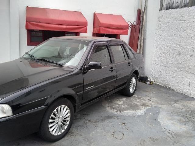 Volkswagen santana confortline, 4 portas, cor preto, completo, alcool e gnv - Foto 3