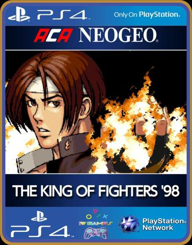 Ps4 the king of figthers 94,95,96,97,98 kof - Foto 4