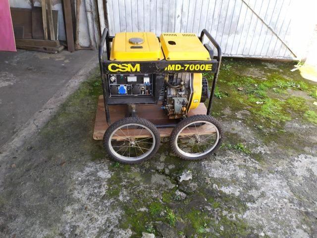 Gerador de Energia Diesel Monofásico (usado) - Foto 5