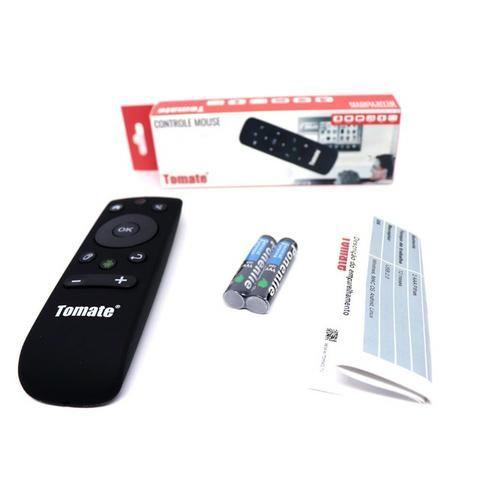 Controle Wireless Mouse MCT-103 Tomate Giroscópio Para Computador Tv Box Smart Tv Android - Foto 5