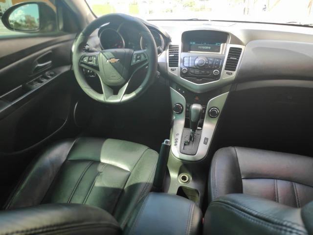 E# Chevrolet Cruze sedan LT 1.8 - completo - couro - conservado - automatico - Foto 8