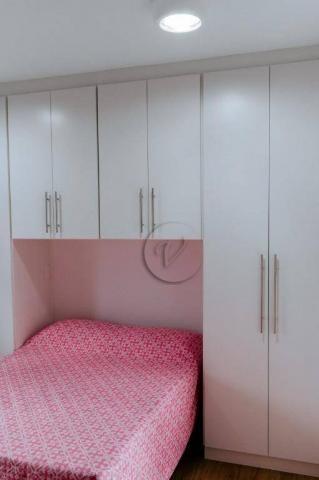 Apartamento com 3 dormitórios para alugar, 90 m² por r$ 2.800/mês - jardim bela vista - sa - Foto 11