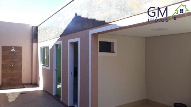 Casa a venda / condomínio jardim europa ii / 03 quartos / churrasqueira / garagem / aceita - Foto 6