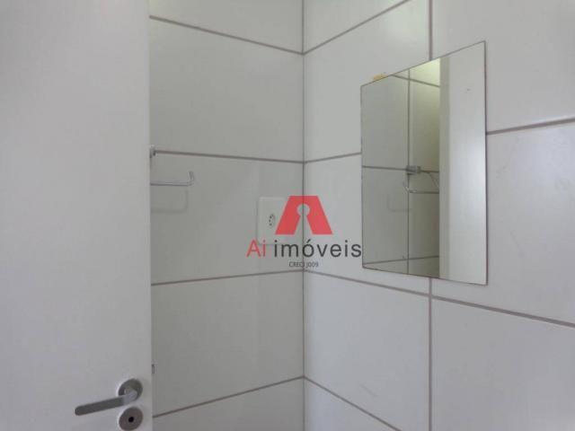 Apartamento com 2 dormitórios para alugar no via parque, 49 m² por r$ 937/mês - floresta s - Foto 20