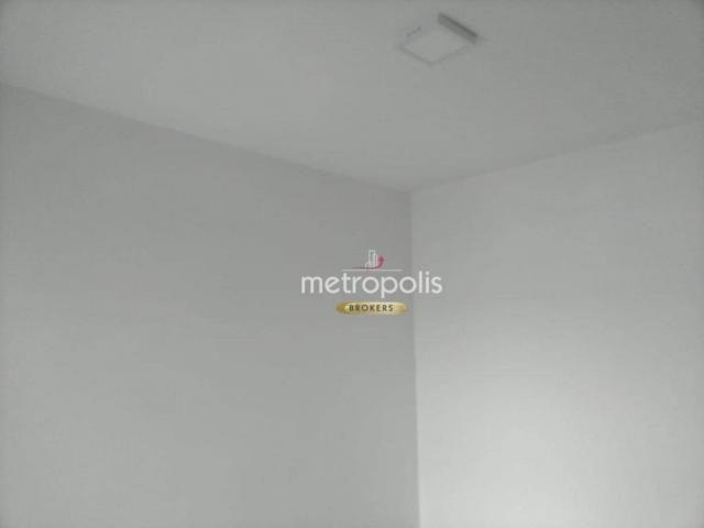Apartamento com 2 dormitórios para alugar, 69 m² por r$ 2.500/mês - cerâmica - são caetano - Foto 16