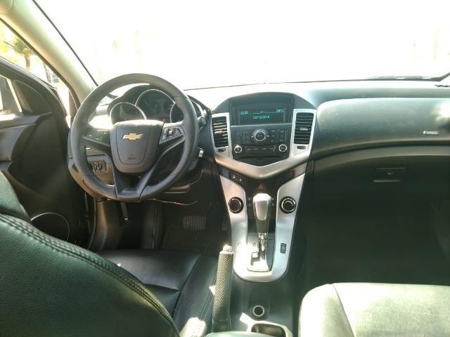 E# Chevrolet Cruze sedan LT 1.8 - completo - couro - conservado - automatico - Foto 6