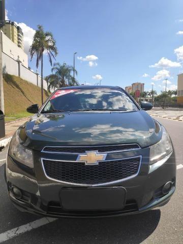 E# Chevrolet Cruze sedan LT 1.8 - completo - couro - conservado - automatico - Foto 3