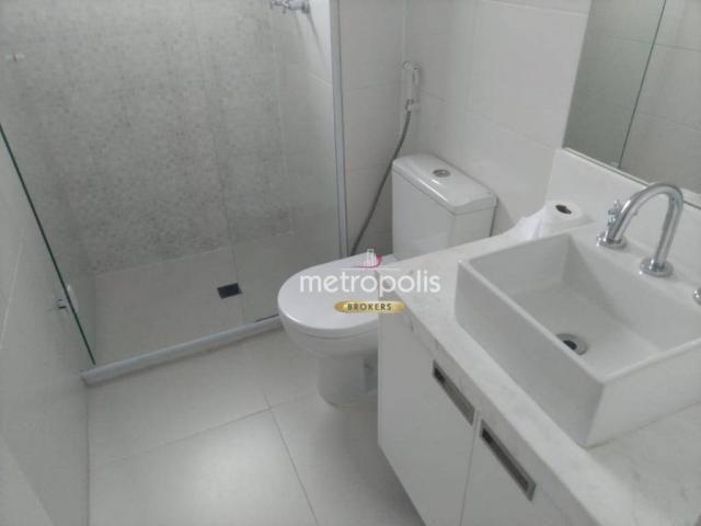 Apartamento com 2 dormitórios para alugar, 69 m² por r$ 2.500/mês - cerâmica - são caetano - Foto 19