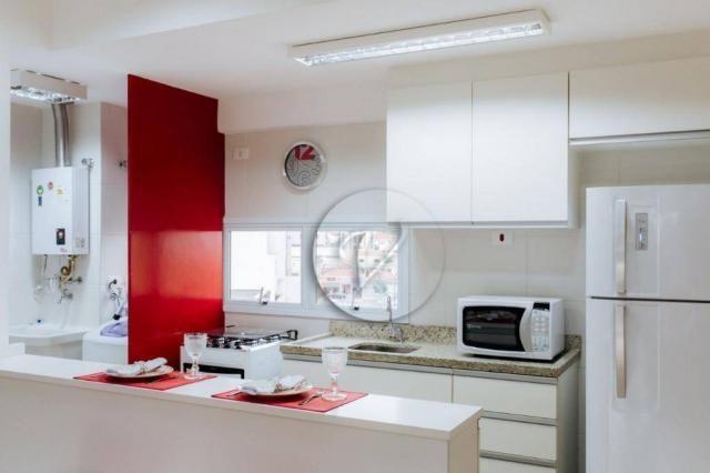 Apartamento com 3 dormitórios para alugar, 90 m² por r$ 2.800/mês - jardim bela vista - sa - Foto 7