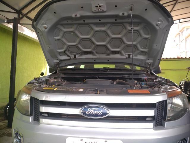 Ford ranger diesel C/s longa 2014 revisado - Foto 12