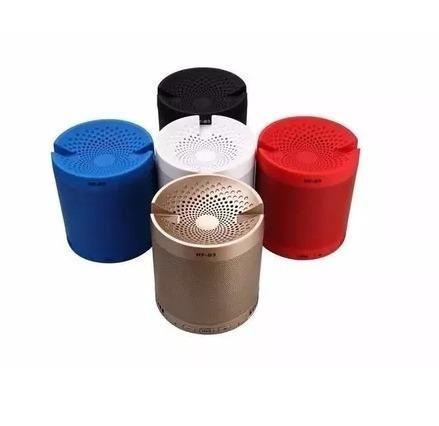 Caixa Som Bluetooth 5w Rádio Fm Bateria longa duração - Foto 6