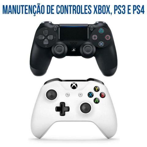 Conserto de Controle de Playstation e Xbox