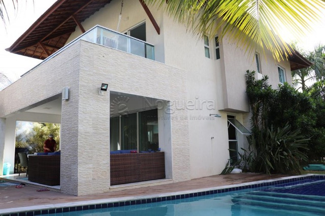 GN- Casa com 5 suítes, piscina privativa, deck, mobiliada, prox. a praia de Muro Alto