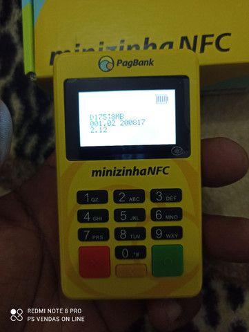 Minizinha bluetooth NFC PagSeguro lançamento