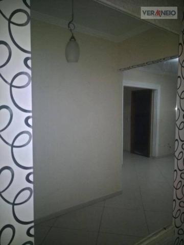 Apartamento com 2 dormitórios para alugar, 99 m² por R$ 3.100,00/mês - Canto do Forte - Pr - Foto 16