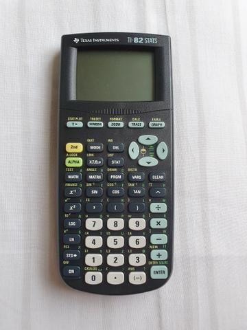 Calculadora TI 82-Stats