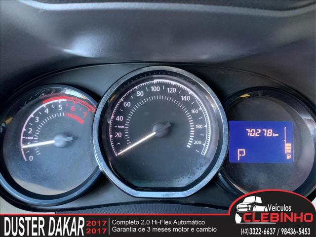 RENAULT DUSTER 2.0 16V HI-FLEX DAKAR II AUTOMÁTICO - Foto 10