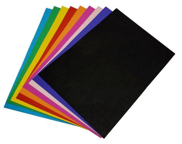 Papel Colorido Na Massa - Foto 5