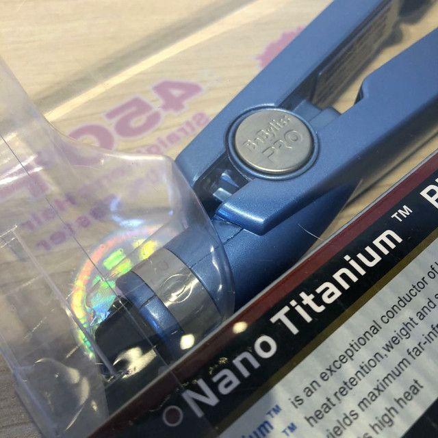 Prancha cabelo BABYLISS Nano Titanium  - Foto 4