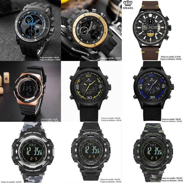 Relógios masculinos Importados originais exclusivos - Foto 6