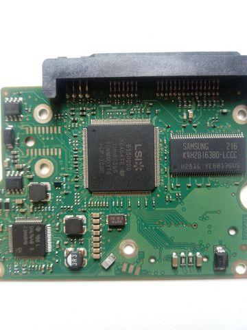 Placa lógica hd seagate 500gb st500dm002 - Foto 3