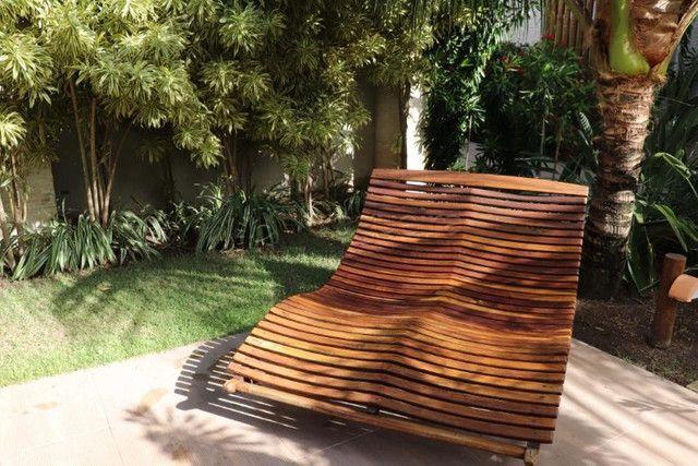 GN- Casa com 5 suítes, piscina privativa, deck, mobiliada, prox. a praia de Muro Alto - Foto 6
