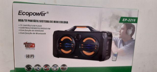 Caixa de som Bluetooth ECOPOWER - Foto 2