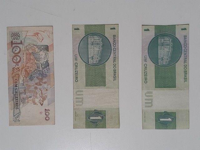 NOTAS E MOEDAS ANTIGAS $ 40,00 - Foto 3