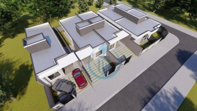 Casa com 2 dormitório à venda, 64 m² por R$ 225.000 - Sao Caetano - Foz do Iguaçu/PR - Foto 3