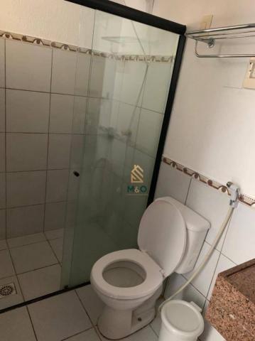 Apartamento com 1 dormitório para alugar, 52 m² por R$ 1.300/mês - Porto das Dunas - Aquir - Foto 15