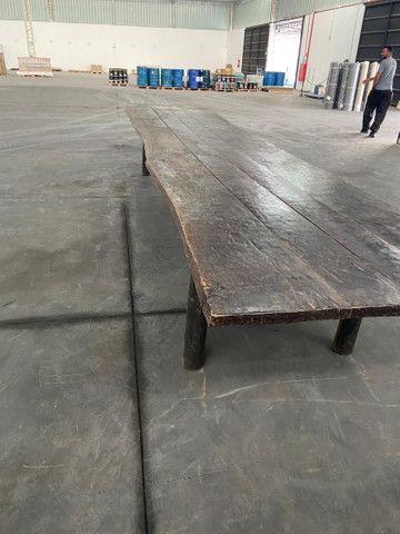 Mesa de madeira ipê  - Foto 6