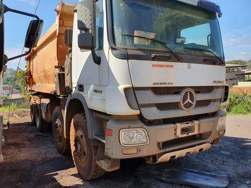 Mercedes-benz Actros 4844 8x4 Ano 2014 Caçamba - Foto 6