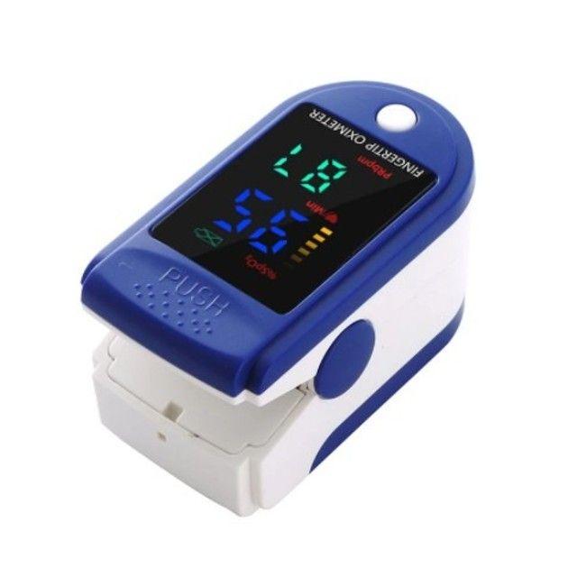 Oxímetro de Dedo / Oximetro de Pulso / Batimento Cardíaco / Oxigenação Novo - Foto 3