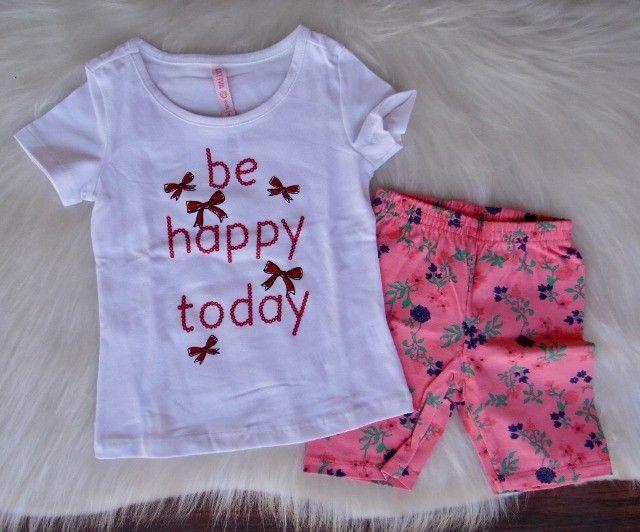 Conjunto Infantil Cativa Disney Menina T-shirt Short Moletom - Foto 4