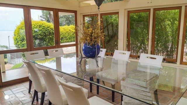Magnifica casa residencial com praia particular para venda com 500 metros quadrados com 4  - Foto 10