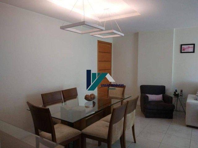 Apartamento montado, próximo ao largo do marrão, com lazer completo, 3 qts 1 suíte 1 vaga - Foto 9