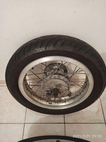 Rodas Viper com pneus - Foto 2